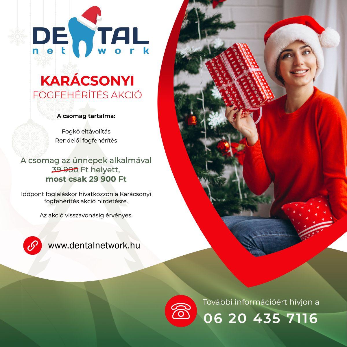 Flórián Dental Fogászat - Karácsonyi akció - Fogfehérítés
